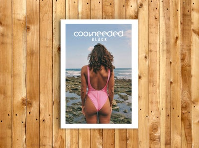 Image of Coolneeded #5 - Black (VERSION PAPEL)