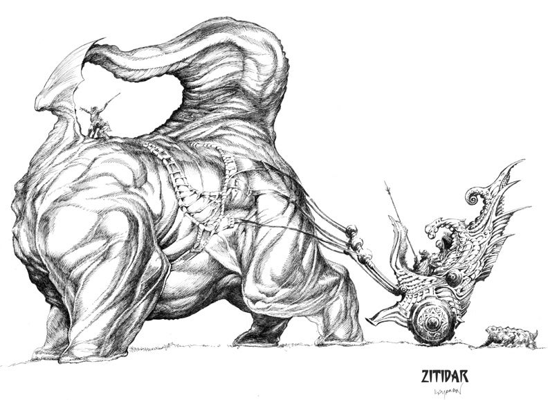 Image of ZITIDAR by Kayanan