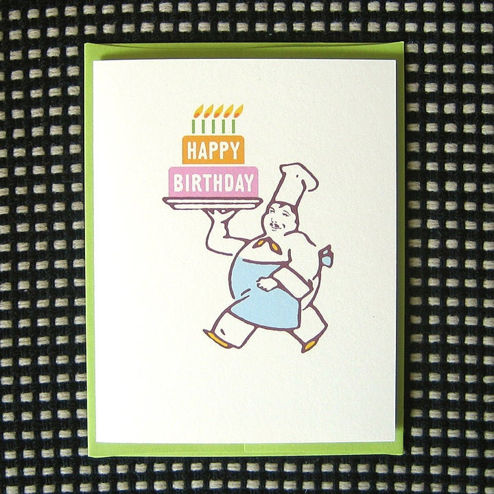Image of BIG CAKE BIRTHDAY CARD