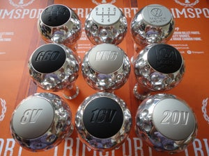 "Image of Trimsport Polished VW Golf Jetta Mk3 ""Golfball"" Dimpled Gearknob"