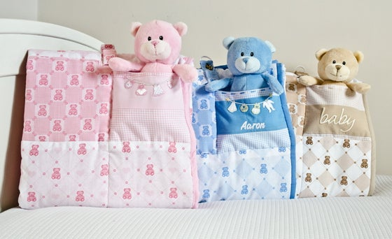 Image of Teddy Patchwork Quilt