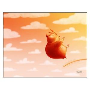 "Image of ""High Hog"" Print"