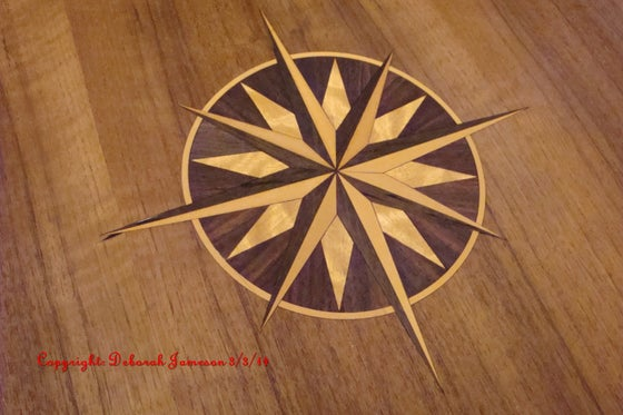 Image of Item No. 126. Compass Star.