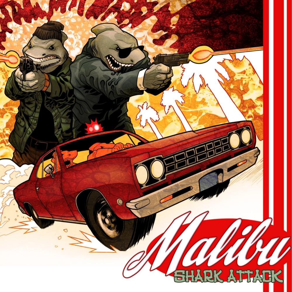 Malibu Shark Attack - Malibu Shark Attack (CD Album)