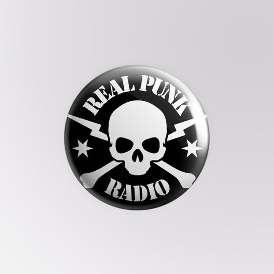 Image of Real Punk Radio Pin (pack of 2)