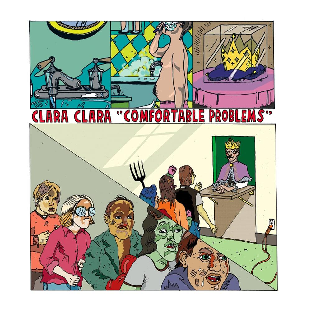 Image of Clara Clara - Comfortable Problems (vinyl)