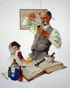 Image of Breaking Bad Circa 1900 A2 print