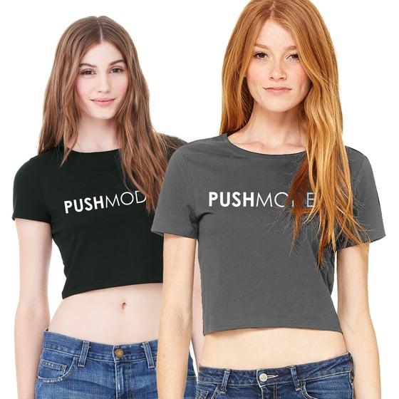 Image of PUSH Models Logo Crop Top