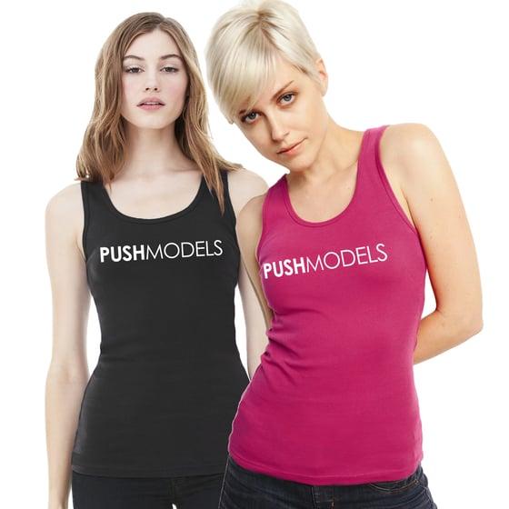 Image of PUSH Models Logo Tank Top