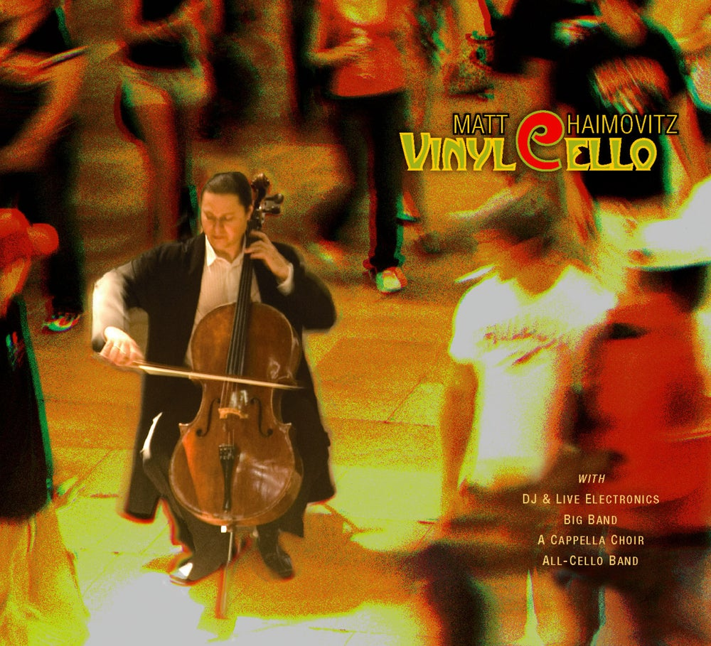 Image of Signed CD or LP 'VinylCello'