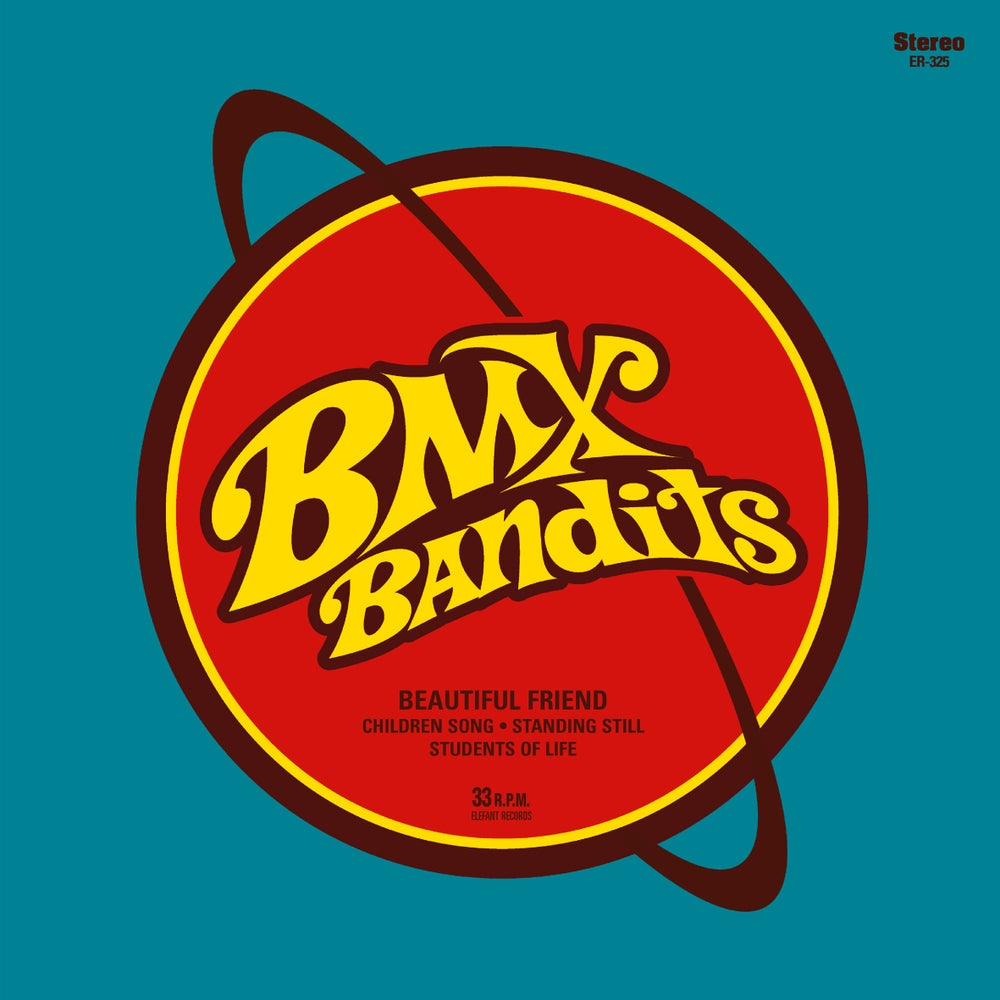 "Image of BMX BANDITS - Beautiful Friend (Limited yellow 7"" vinyl/MP3s)"
