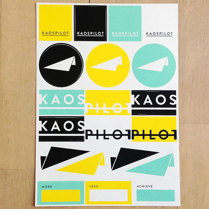 Image of KAOSPILOT STICKERS