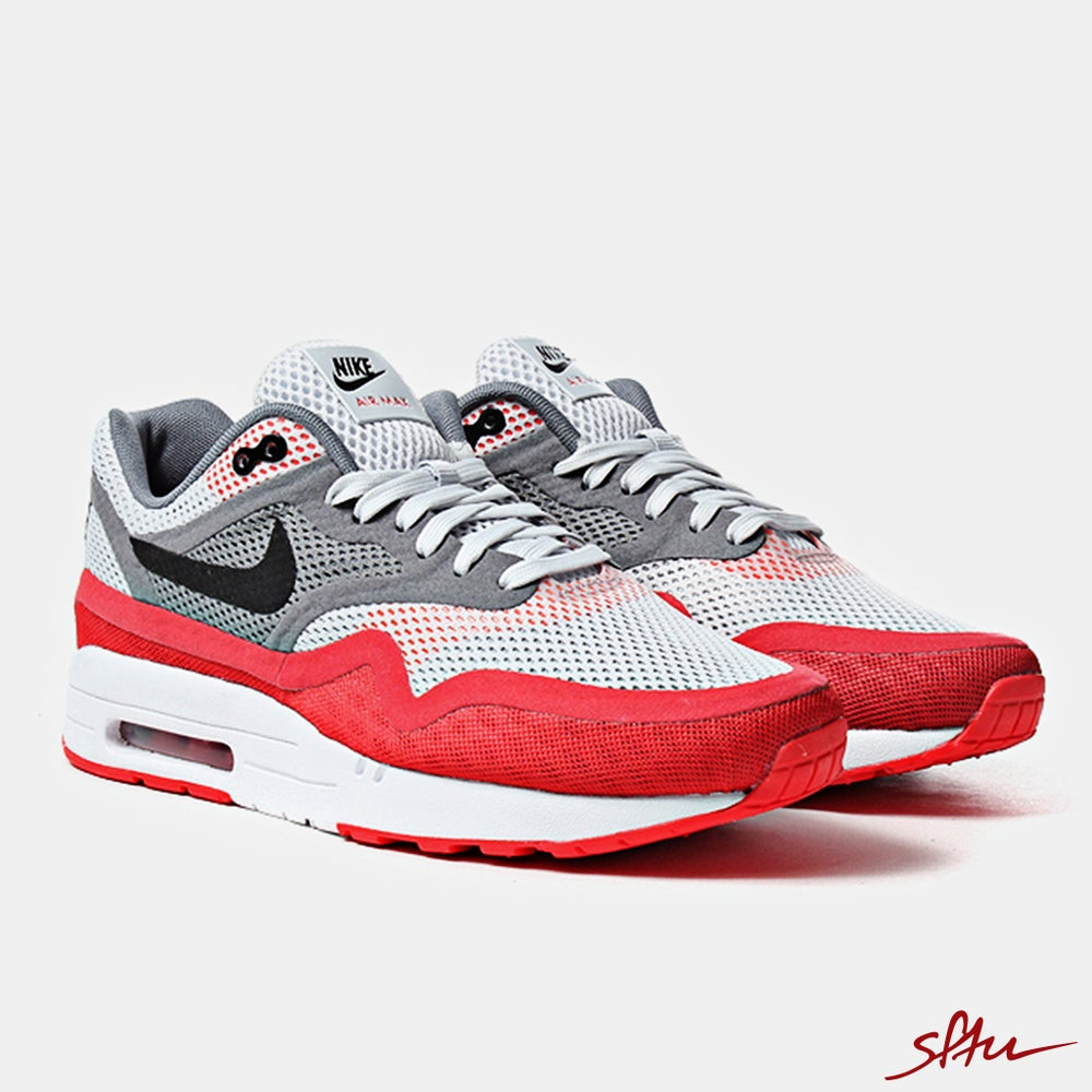 the best attitude 0c4a5 b37a6 Image of Nike Air Max 1 Br Shoes - Pure PlatinumBlack