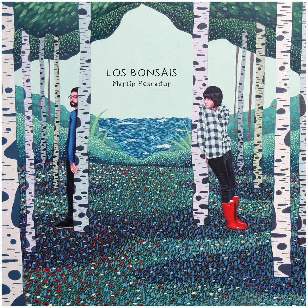 "Image of LOS BONSÁIS - Martín Pescador (Limited white 10"" vinyl/MP3s)"