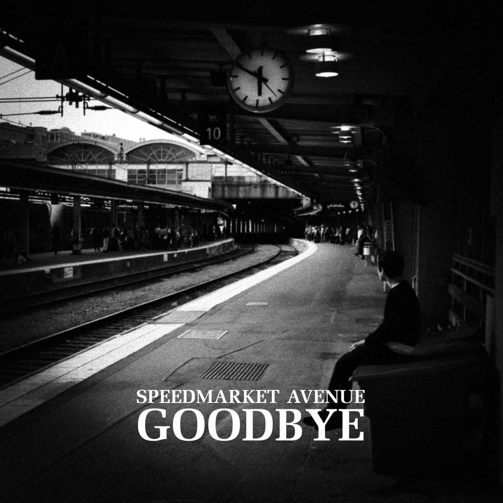 "Image of SPEEDMARKET AVENUE - Goodbye (Limited edition red 10"" vinyl + free MP3 download)"