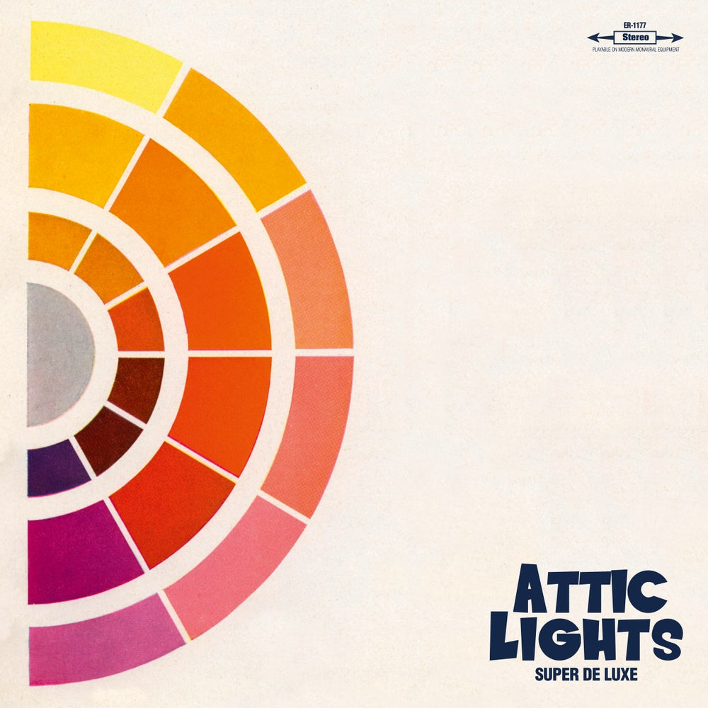 "Image of ATTIC LIGHTS - Super De Luxe (Limited 12"" vinyl with MP3s / CD)"