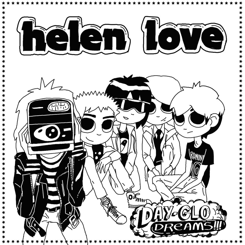 "Image of HELEN LOVE - Day-Glo Dreams (Limited 12"" vinyl with MP3s / CD)"