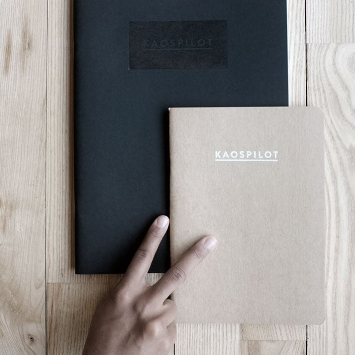 Image of KAOSPILOT NOTEBOOK PACKAGE (2)