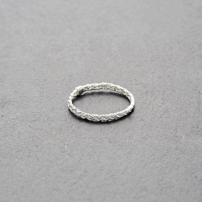Image of Mount Lavinia Braided Ring Silver