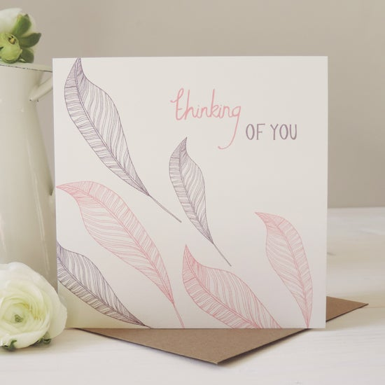 Image of Amelia 'Thinking Of You' Card