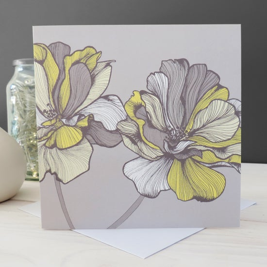 Image of 'Bridget Floral' Card
