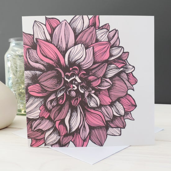 Image of 'Darcey Floral' Card