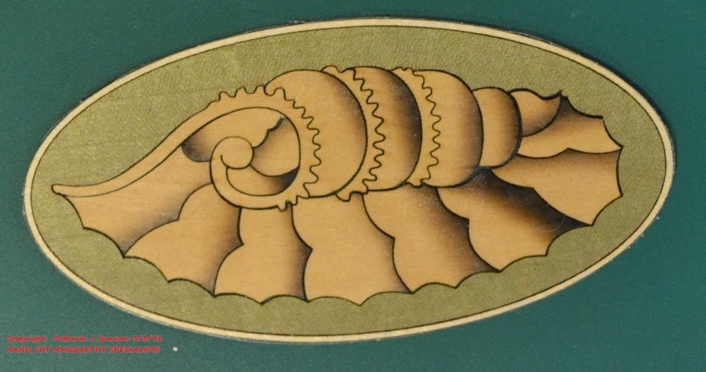 Image of Item No. 251.  Marquetry Shell Inlay Motif