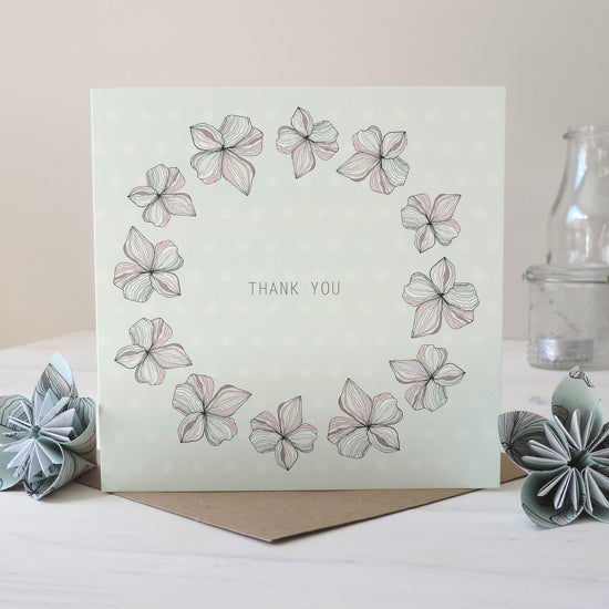 Image of Blossom 'Thank You' Card