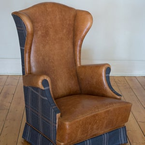 Image of The Worthley Collection Wingback Chair