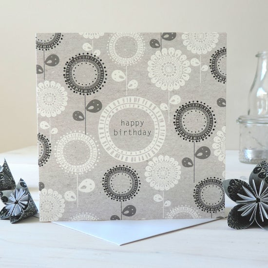 Image of Betsy Folk 'Happy Birthday' Card