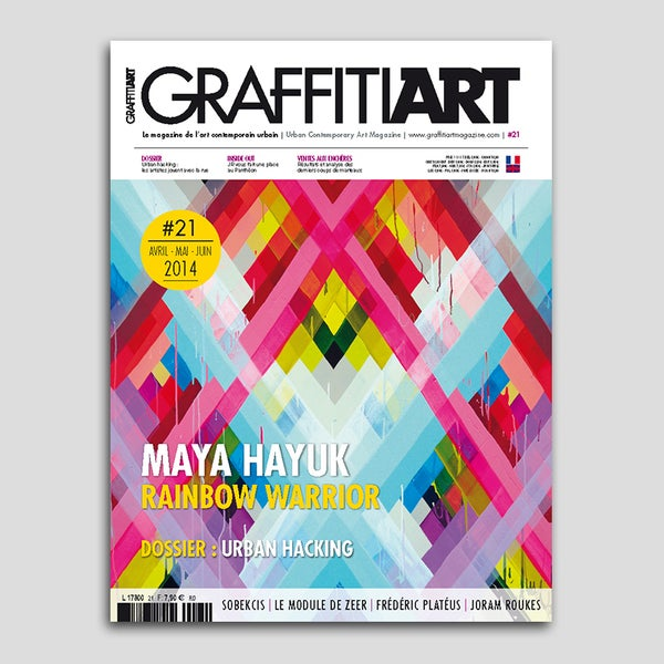 Image of Graffiti Art Magazine #21