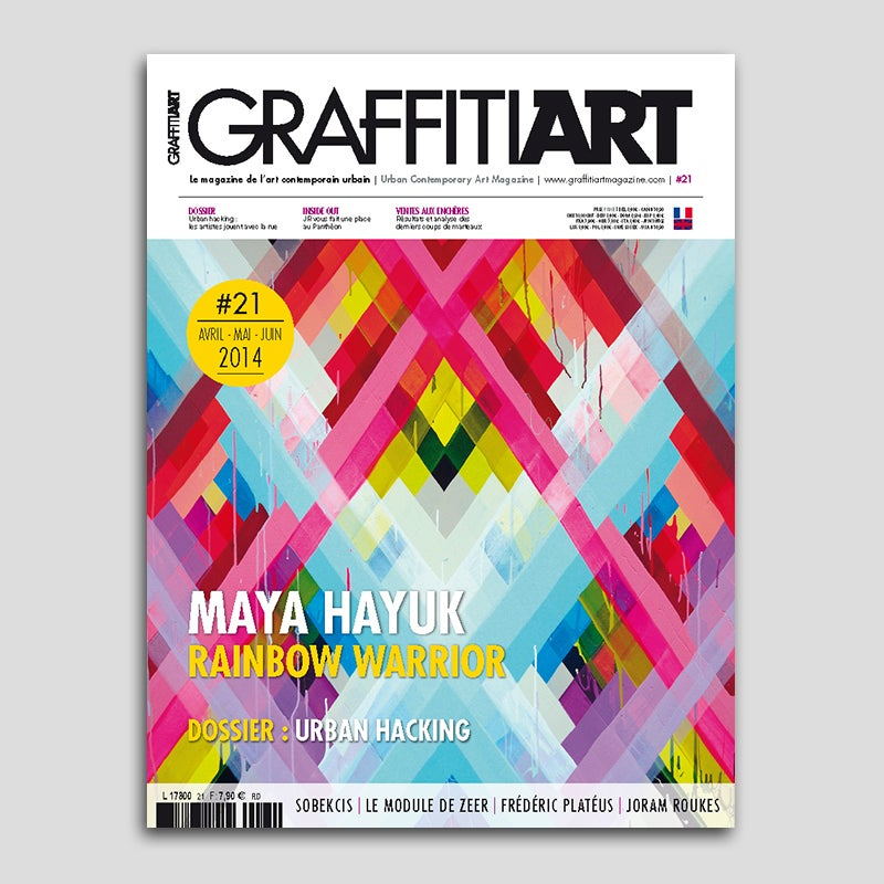 Image of Maya Hayuk - Graffiti Art #21
