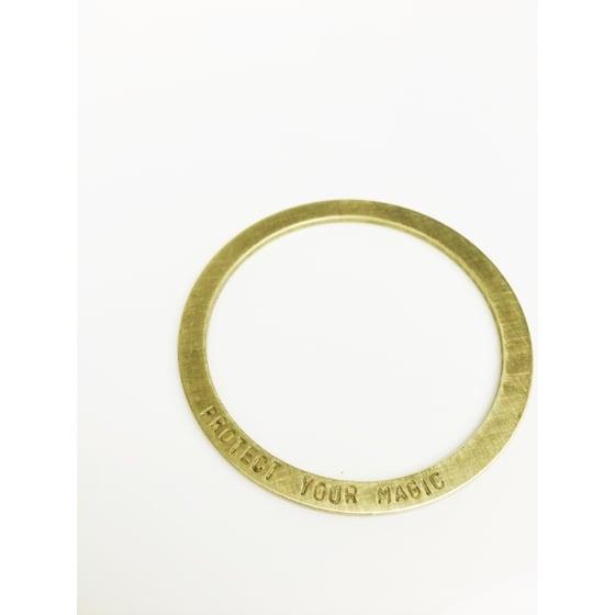 Image of PYM Stamped Antiqued Bracelet