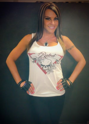 "Image of Rated V Ladies ""Beautiful Disaster"" Tank"