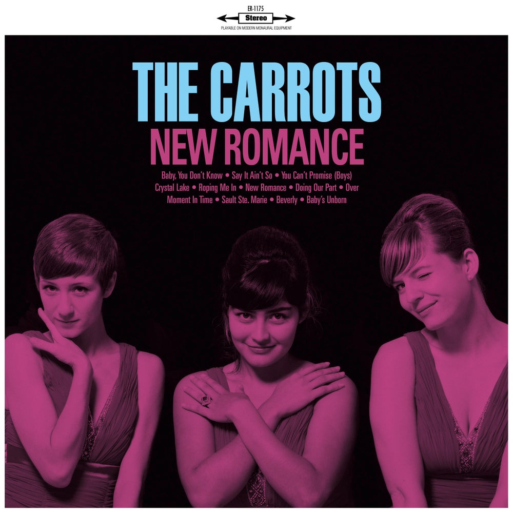 "Image of THE CARROTS - New Romance (Digipak CD/Limited edition 12"" vinyl + free MP3 download)"