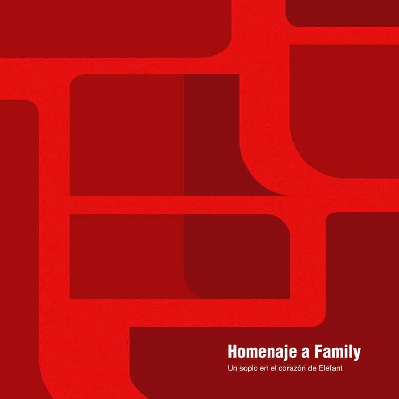 "Image of VARIOUS ARTISTS - Homenaje A Family (Un Soplo En El Corazón De Elefant) (CD / Limited 12"" vinyl)"