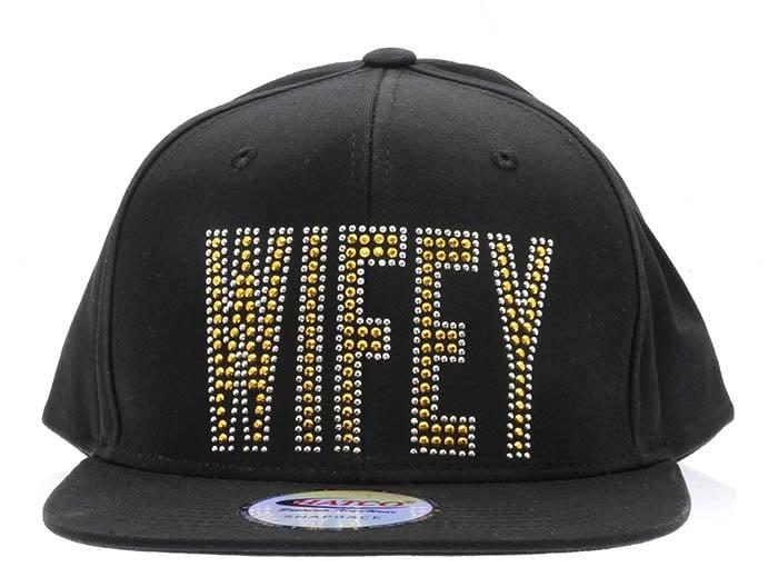Image of WIFEY Studded Snapback