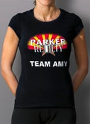 "Image of Women's ""Team Amy"" Baby Doll Top"
