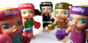 Image of Big Boxing Molly Pink 8""