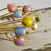 Image of Shi- Stackable Coloured Glass Jewel Bangle