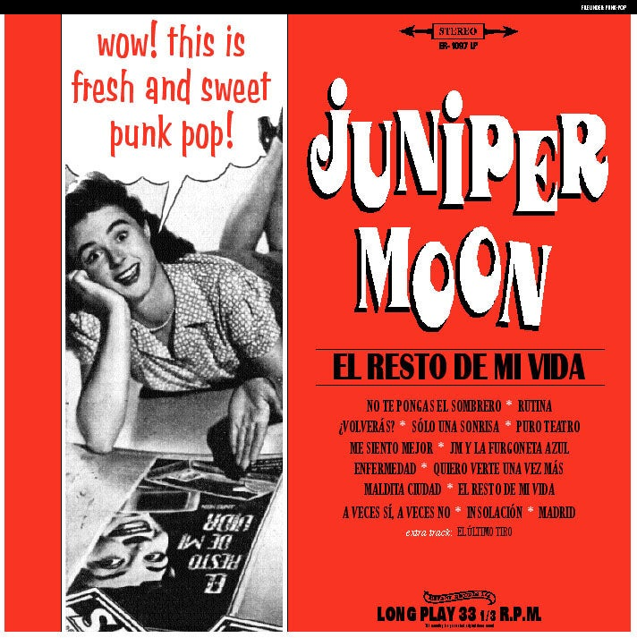 Image of JUNIPER MOON - El Resto De Mi Vida (Digipak CD)