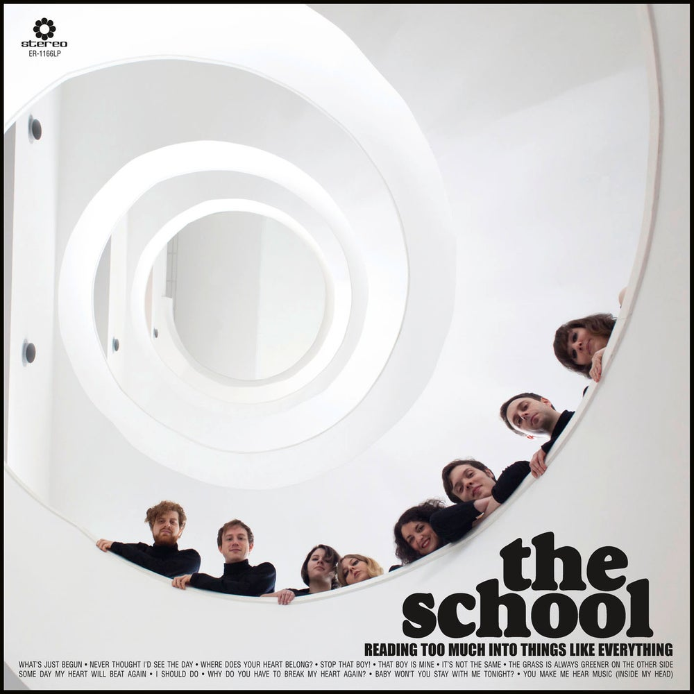 "Image of THE SCHOOL - Reading Too Much Into Things Like Everything (Digipak CD/12"" vinyl + free MP3 download)"