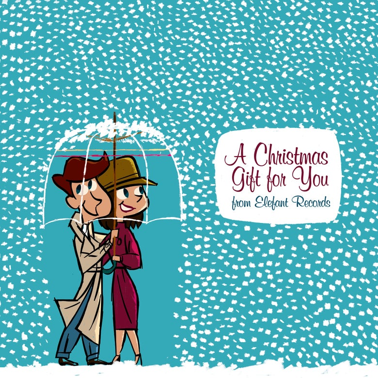 "Image of VARIOUS ARTISTS - A Christmas Gift To You From Elefant (CD/12"" vinyl with MP3s)"