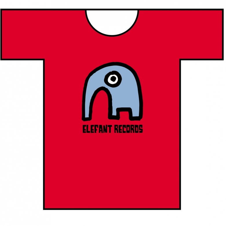 Image of ELEFANT T-SHIRT: RED (Various sizes)