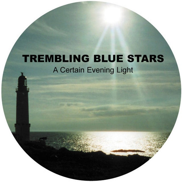 Image of TREMBLING BLUE STARS BADGE