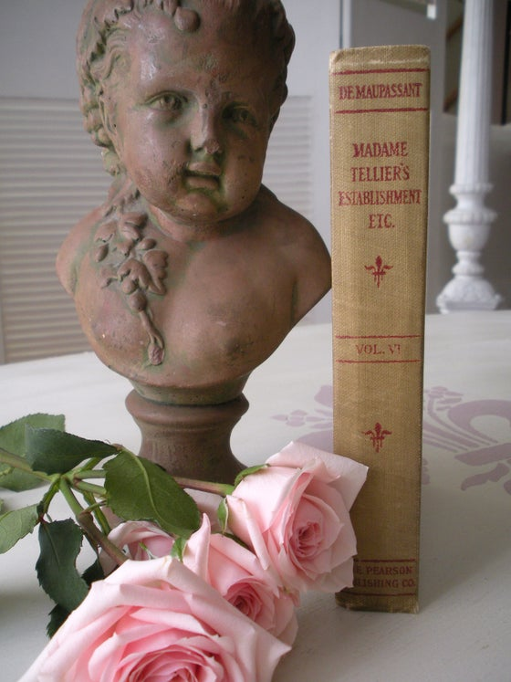 Image of Antique French Book