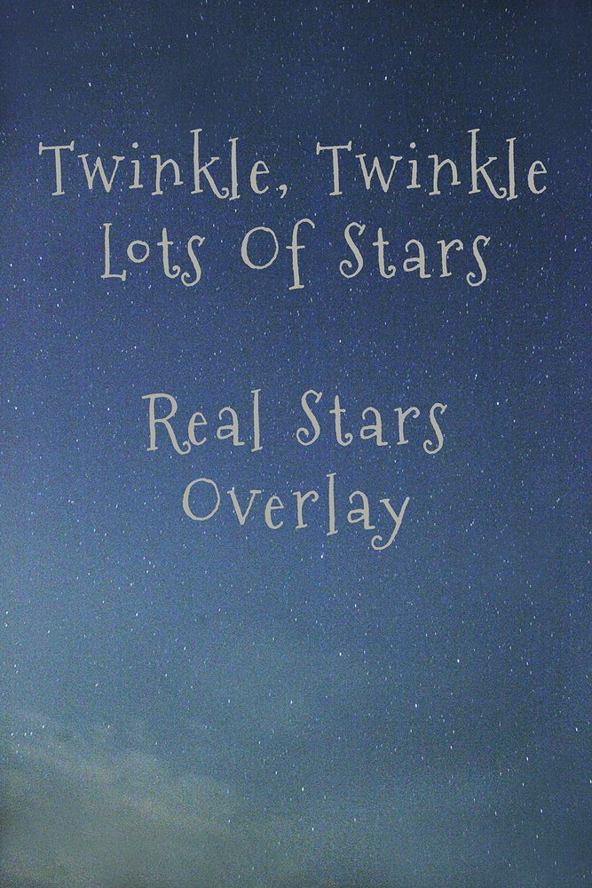 Image of Real Stars Overlay
