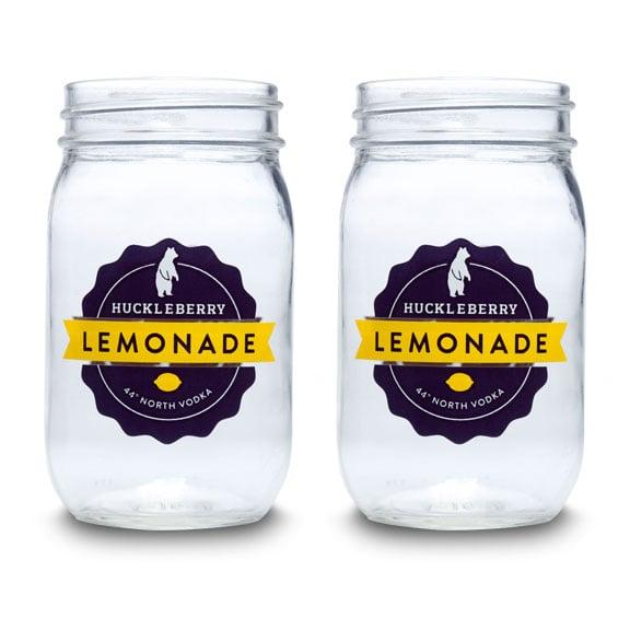 Huckleberry Lemonade Jars - Set of 4