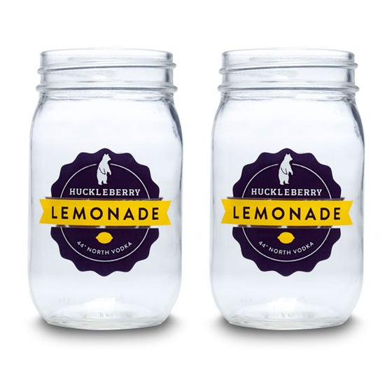 Image of Huckleberry Lemonade Jars - Set of 4