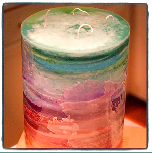 Image of Ten Inch Diameter Candle You Select Height